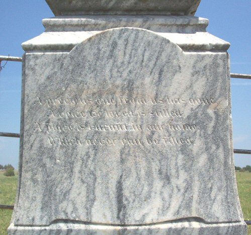 Rising Grave, side view